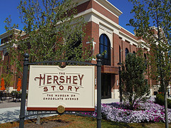 Chocolate Lab at The Hershey Story