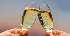 Romantic Getaway in PA - Champagne