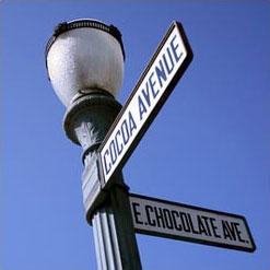 A street sign
