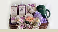 Gift baskets at Westwynd Farm Inn