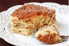 Apple Sour Cream Cake Recipe