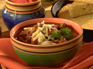 recipe of the week: vegetarian chili