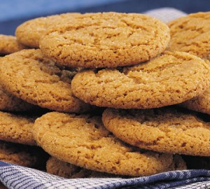 Gingersnap Cookie Recipe: From our Westwynd Farm Cookbook