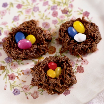 Easter Desserts - Hummingbird Nests