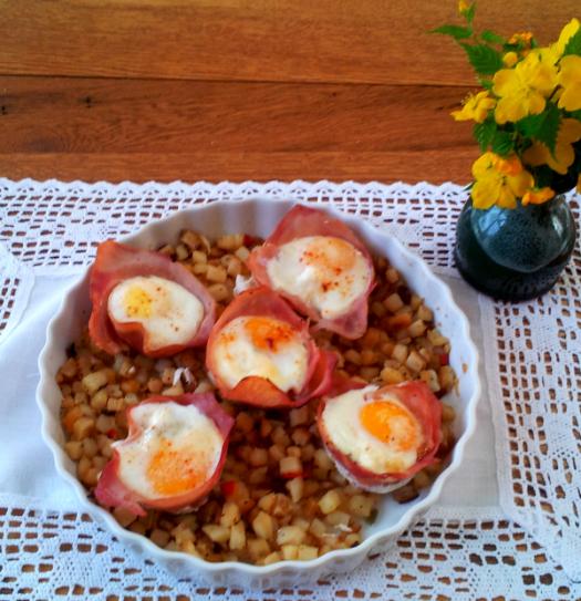 Breakfast Blossoms recipe