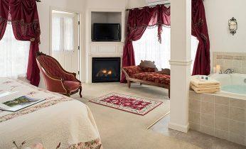 The Landar room at our Hershey B&B