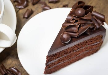 Artisan chocolate cake