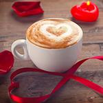 Valentine's Day Latte