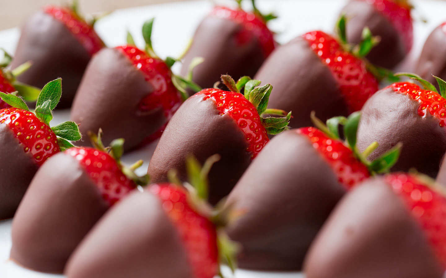 Chocolate dipped strawberries at our Hershey bed and breakfast