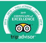 TripAdvisor 2019 Hall of Fame Award - Inn at Westwynd Farm
