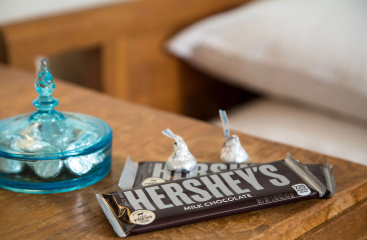 Chocolate Bar at Hershey PA Bed and Breakfast