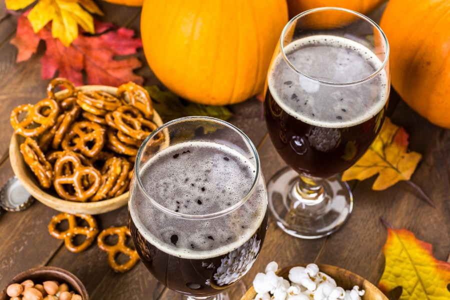 Pretzels and Beer From Breweries in Hershey