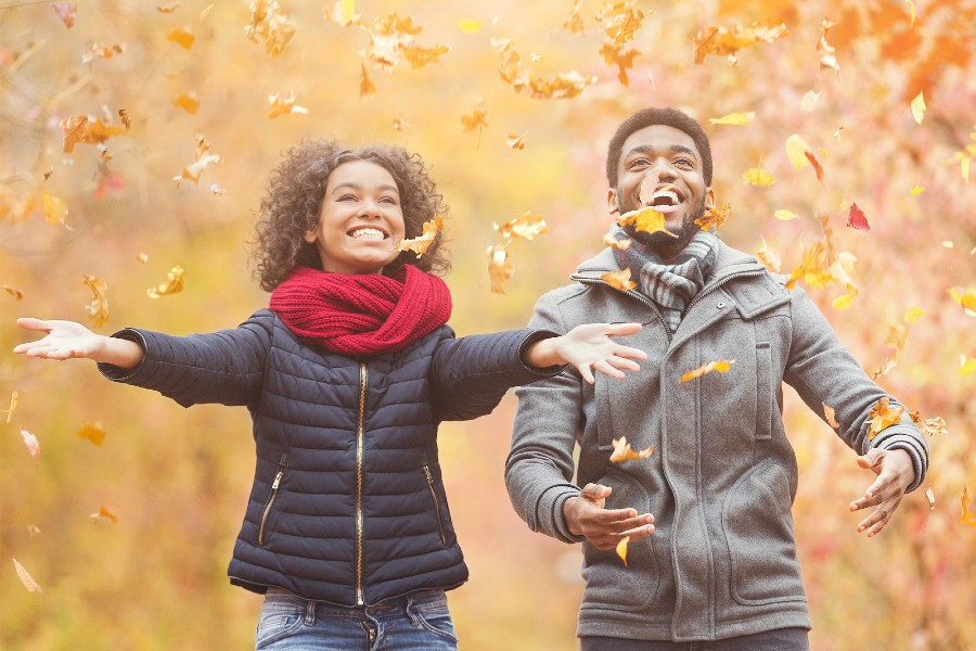 Thing to Do in Hershey This Fall Include Throwing Leaves