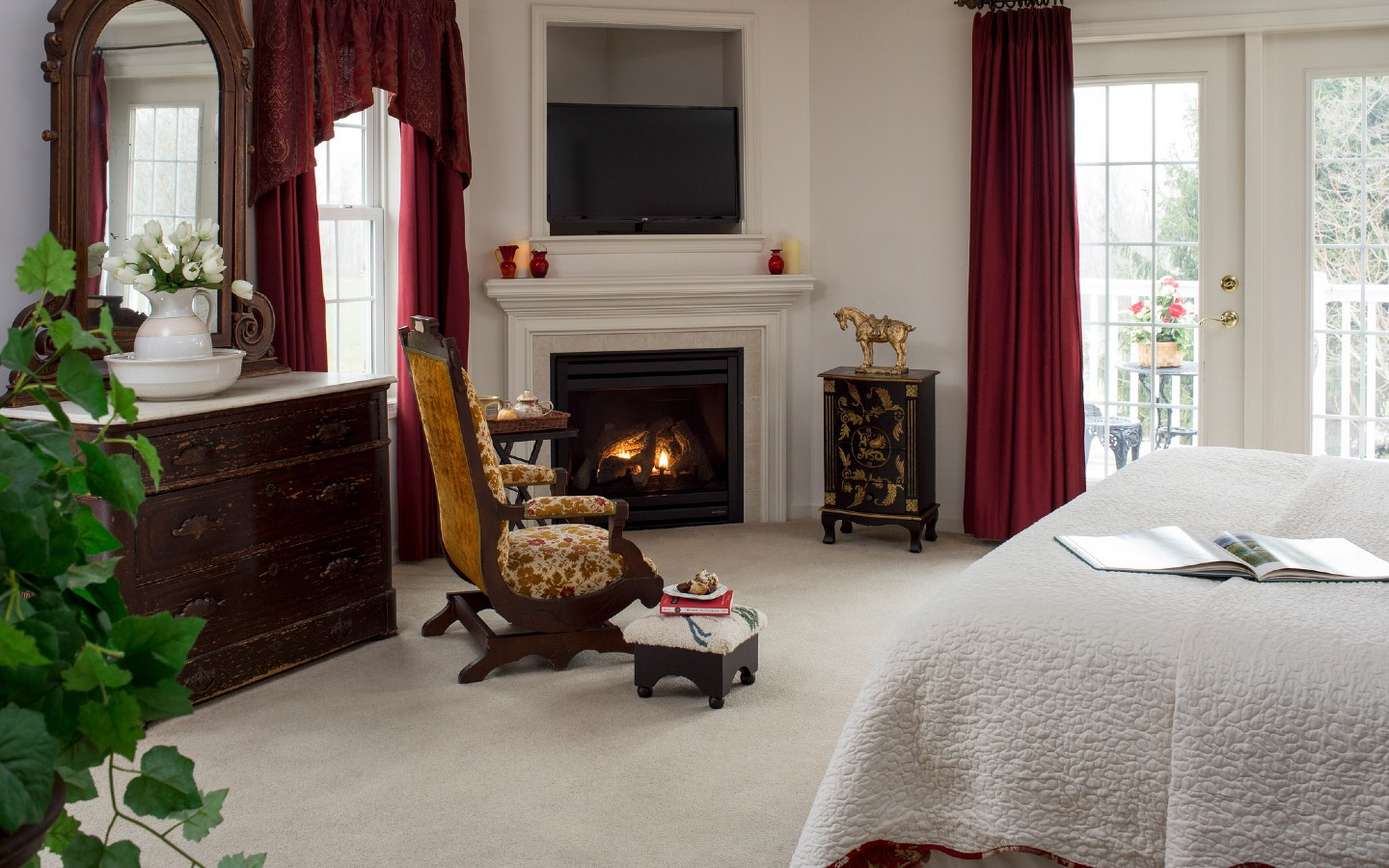 Hershey PA Bed and Breakfast Suite for Fall Getaway
